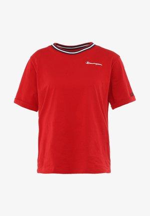 SHORT SLEEVE - Camiseta estampada - bordeaux