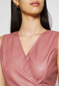 WAL G. - ZASHA MINI DRESS - Cocktail dress / Party dress - dark blush pink - 5