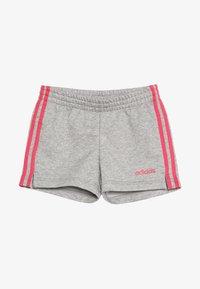 medium grey heather/real pink
