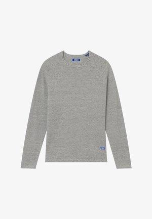 Strickpullover - light grey melange