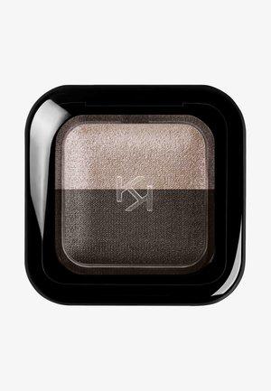 BRIGHT DUO BAKED EYESHADOW - Eye shadow - 17 metallic beige/satin ebony