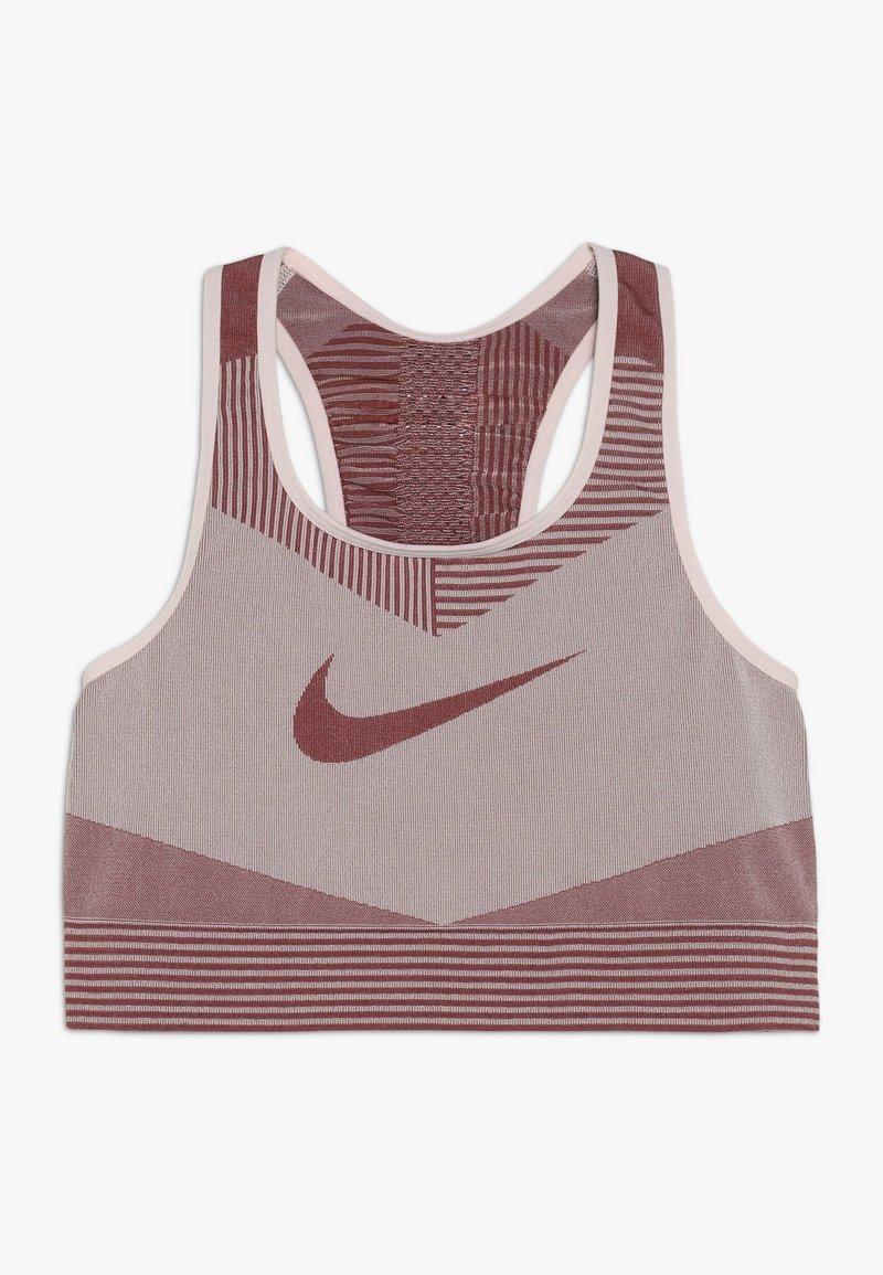 Nike Performance - FENOM SEAMLESS BRA - Sports bra - echo pink/cedar