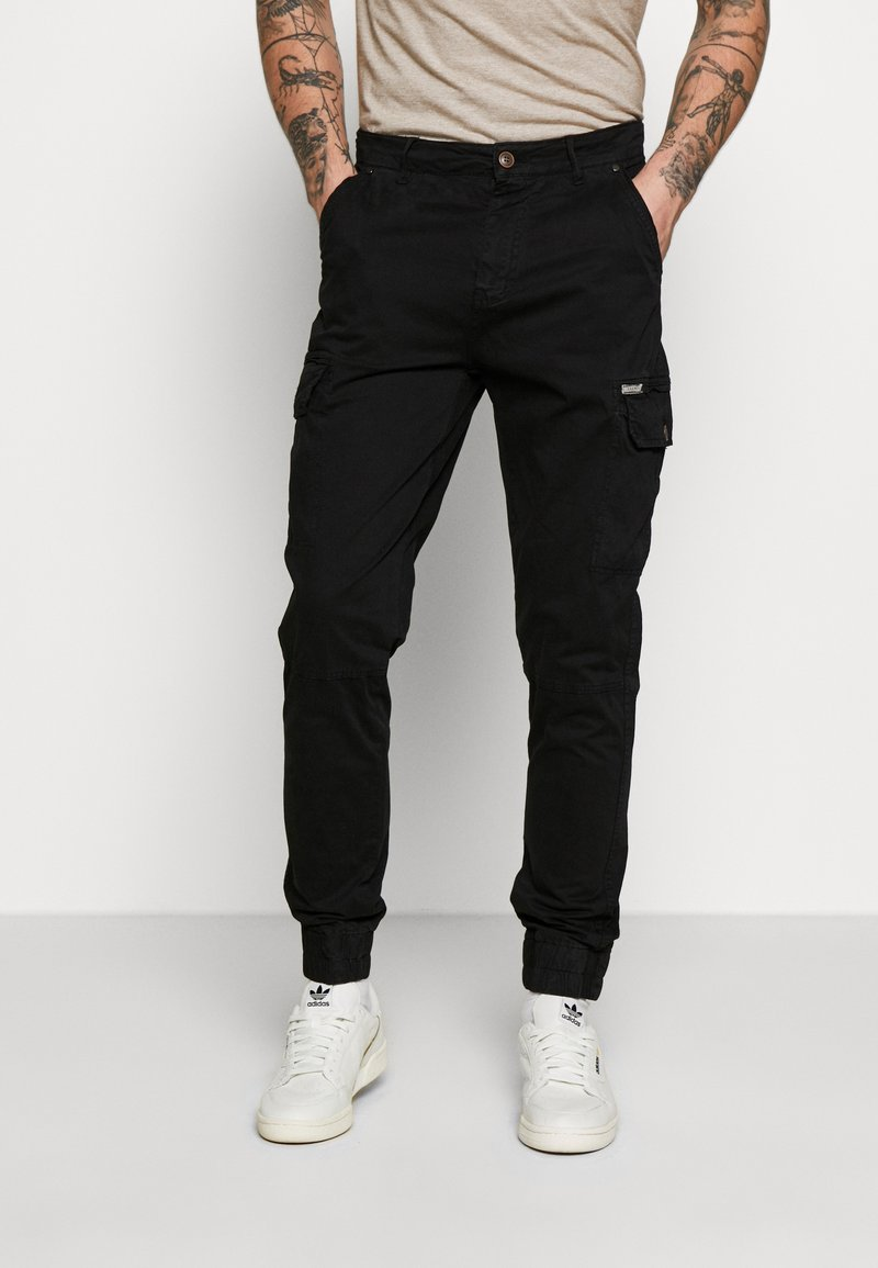 Blend - Cargo trousers - black