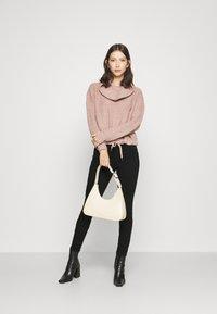 ONLY - ONLBLUSH HIGH WAIST - Jeans Skinny Fit - black denim - 1
