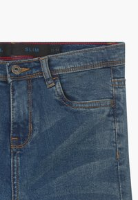 Bench - BRADWELL - Vaqueros slim fit - blue denim - 3