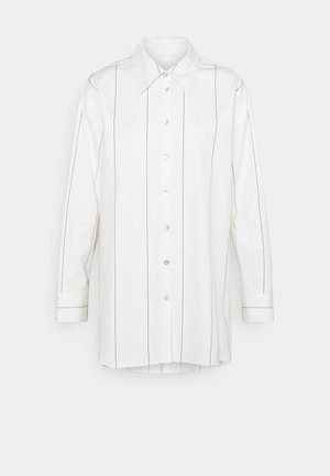 LANGARM - Button-down blouse - ecru