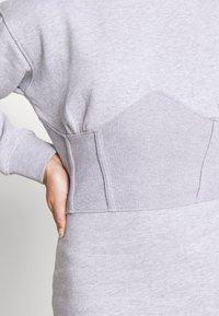 Missguided Petite - CORSET DRESS - Vestido informal - grey marl - 5