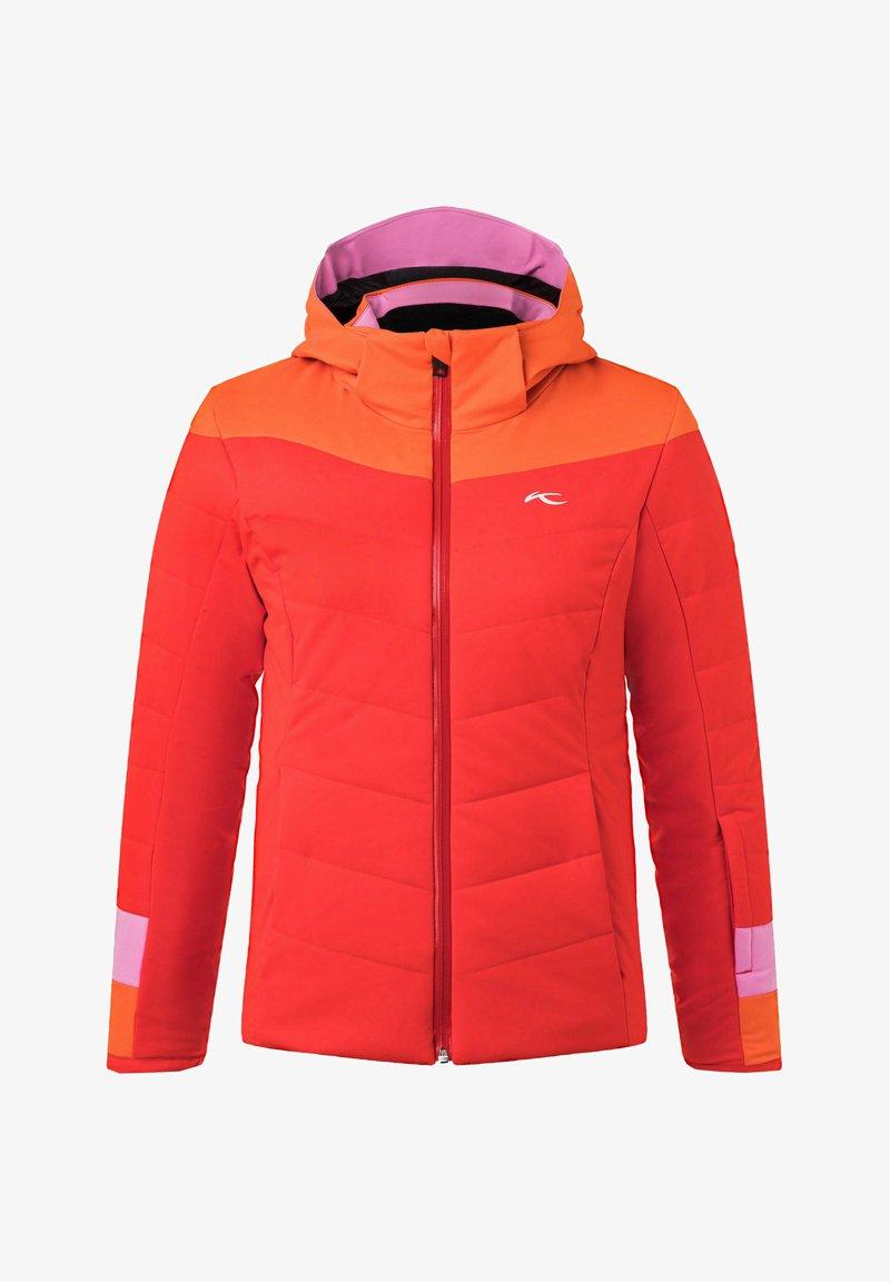 Kjus - MADLAIN - Ski jacket - orange