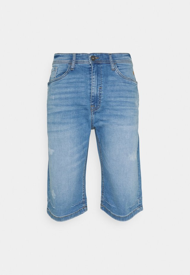 Jeansshorts - denim light blue
