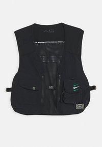 NFF NIGERIA NIGERIA VEST - Waistcoat - black/pine green