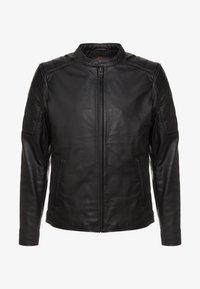 Chevignon - RIDE - Leather jacket - noir - 5