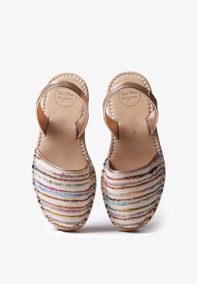 MAO-SN - Sandaalit nilkkaremmillä - multi-coloured