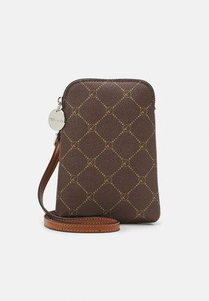 ANASTASIA CLASSIC - Across body bag - brown/cognac