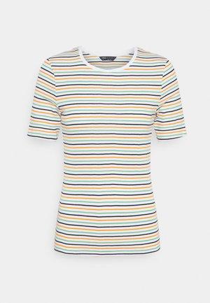 CREW  - T-shirt con stampa - white