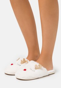 Vero Moda - VMCHRIS SLIPPERS - Pantoffels - pristine - 0
