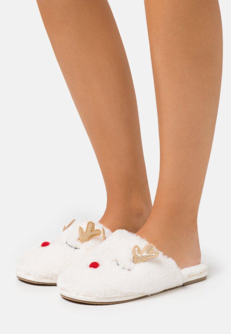 Vero Moda - VMCHRIS SLIPPERS - Pantoffels - pristine