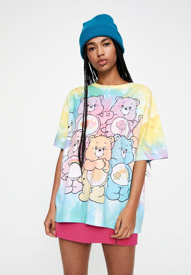 PULL&BEAR - T-shirt imprimé - multi-coloured