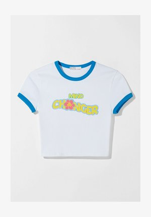 THE GAME CHANGERS - T-shirt med print - white