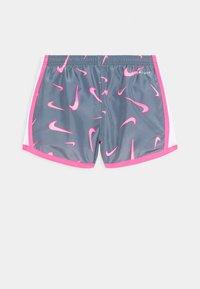 Nike Sportswear - 3D TEMPO SHORT - Shorts - smoke grey/pink/hyper pink/white - 1