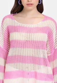 myMo - Jumper - light pink/white - 3
