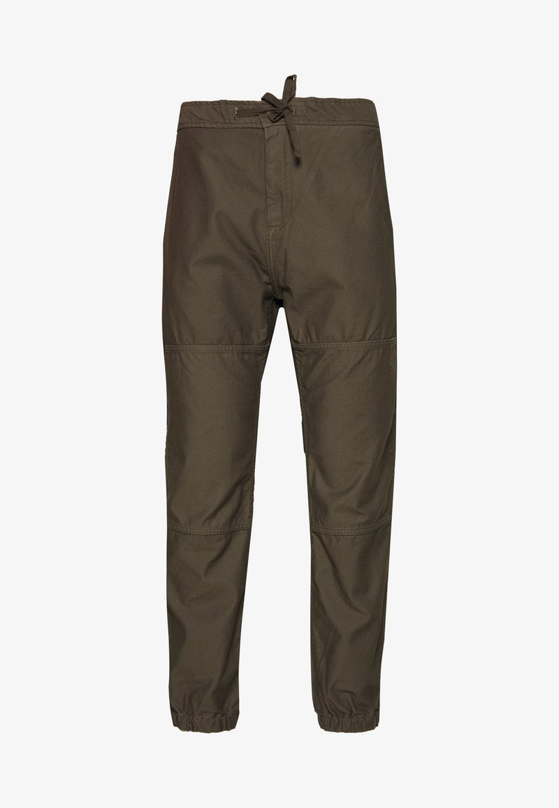 Carhartt WIP - MARSHALL SANDERS - Trousers - moor stone washed