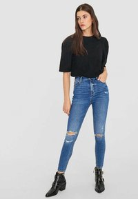 Stradivarius - Jeans Skinny Fit - light blue - 1
