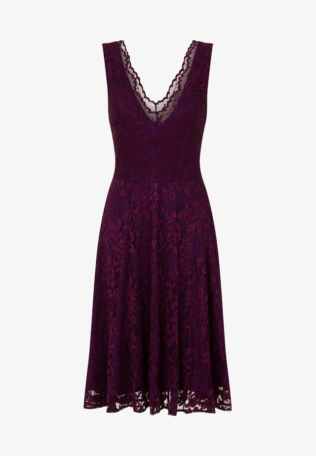 FLORAL  - Cocktail dress / Party dress - dark purple