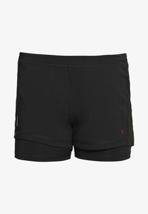 ONPPERFORMANCE RUN LOOSE SHORTS - kurze Sporthose - black/red