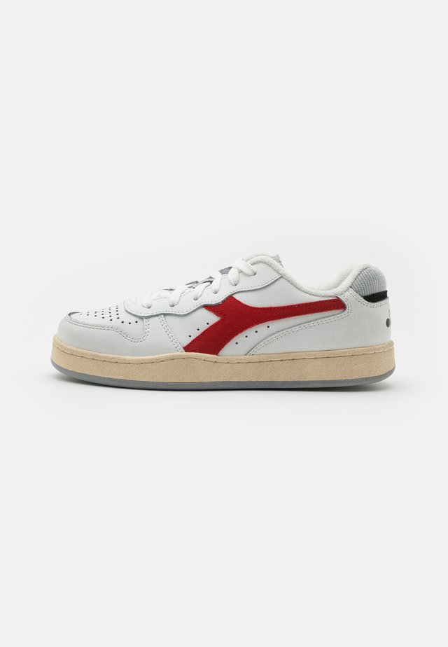 MI BASKET ICONA UNISEX - Baskets basses - white/ferrari red italy
