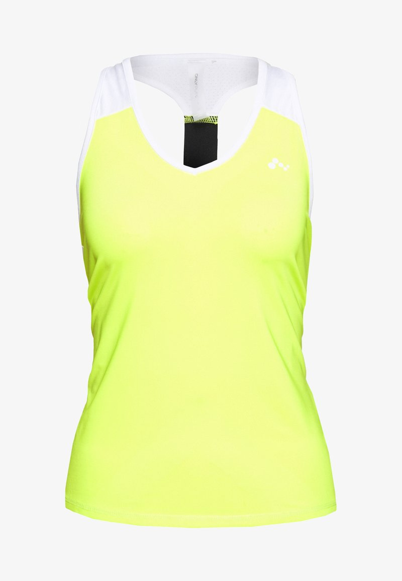 ONLY PLAY Petite - ONPAMBRE TRAINING PETITE - Top - safety yellow