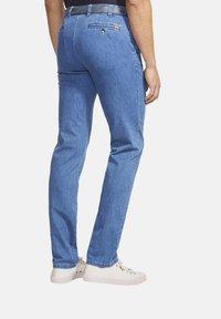 Meyer - AUTOFAHRER UND REISE - Slim fit jeans - blue - 1