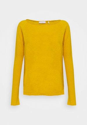 Long sleeved top - golden yellow