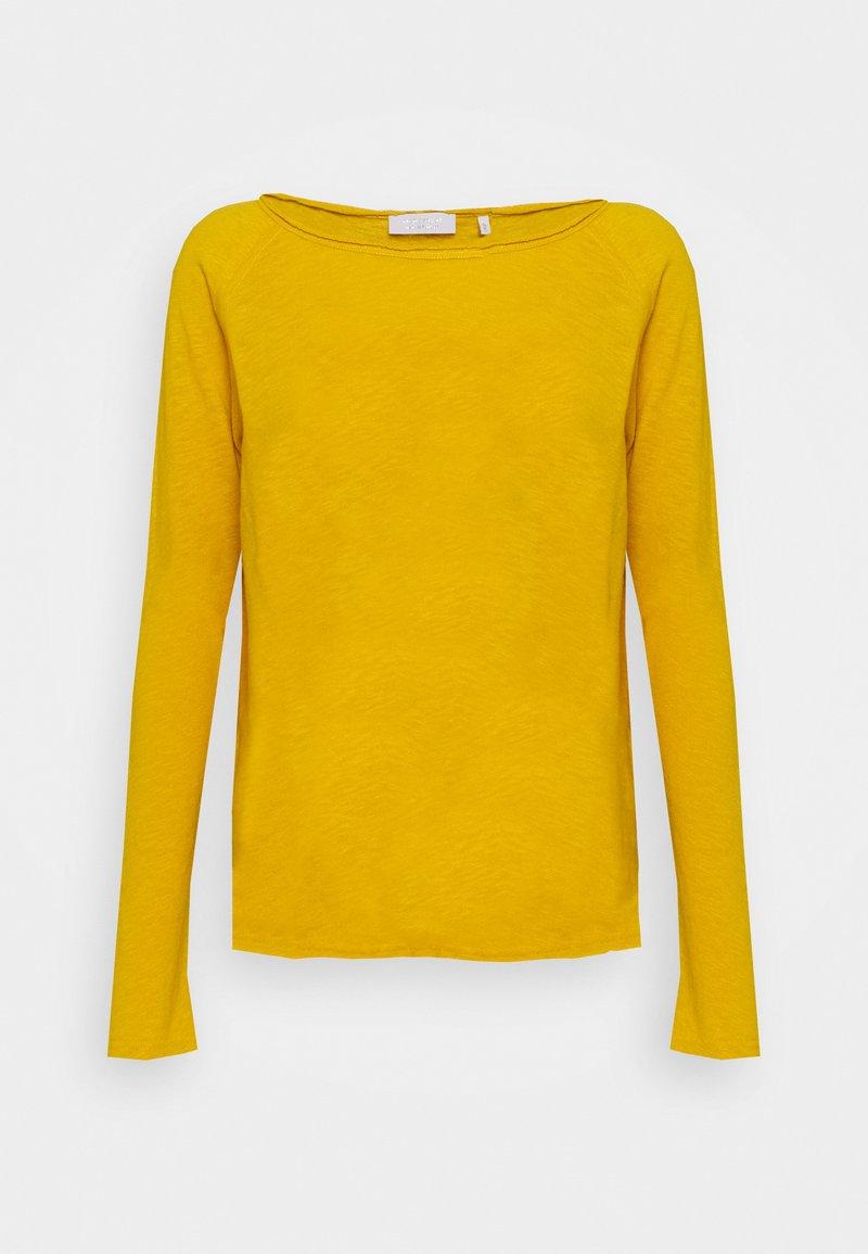 Rich & Royal - Long sleeved top - golden yellow