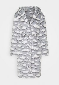 Loungeable - CLOUD SHERPA HOODED ROBE - Dressing gown - grey - 4
