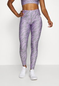 Pink Soda - ZEBRA TIGHT - Leggings - lilac - 0