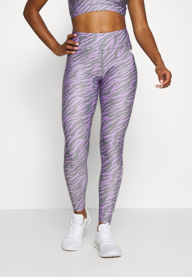 ZEBRA TIGHT - Tights - lilac