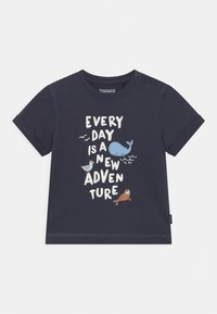 Staccato - 2 PACK - Print T-shirt - dark blue - 2
