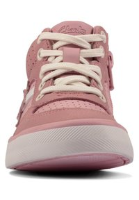 Clarks - CITY FLAKE TODDLER - Lace-up ankle boots - pink - 2