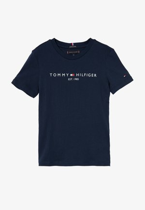 ESSENTIAL TEE  - T-Shirt print - blue