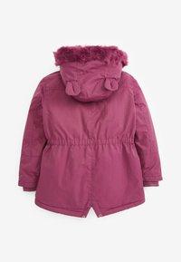 Next - Winter coat - purple - 1