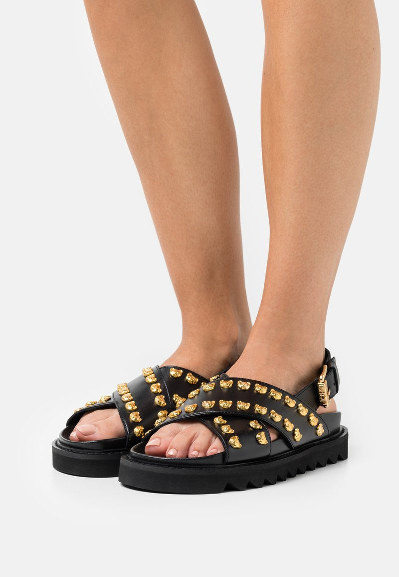 MOSCHINO - Platform sandals - nero