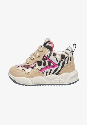 IM ZEBRA-DESIGN-PLA - High-top trainers - gold