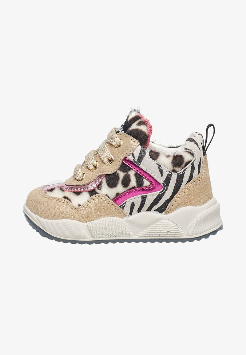 Naturino - IM ZEBRA-DESIGN-PLA - High-top trainers - gold