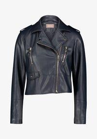 Cartoon - Faux leather jacket - dark blue - 0