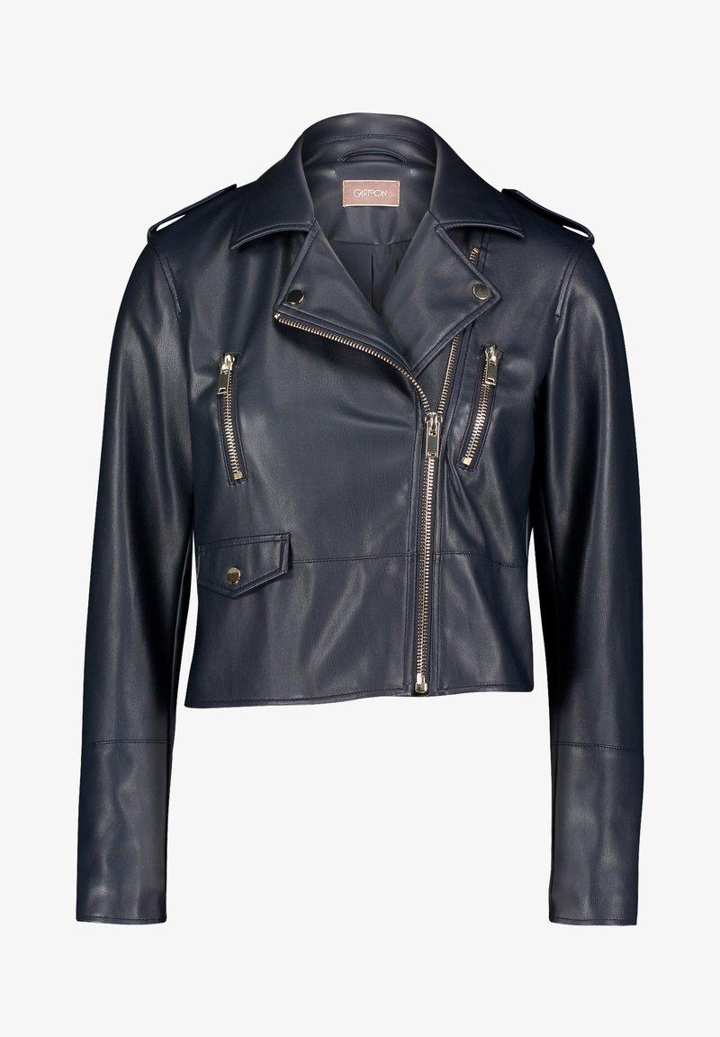 Cartoon - Faux leather jacket - dark blue