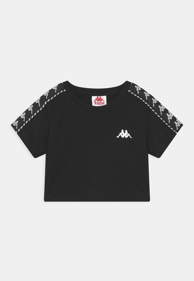 INULA - T-shirt con stampa - caviar
