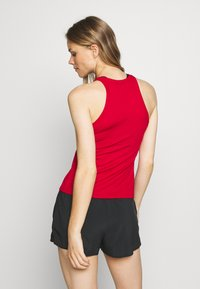 Nike Performance - DRY TANK - Sports shirt - gym red/white - 2