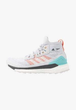 TERREX FREE PARLEY - Hiking shoes - grey/footwear white/true orange