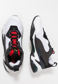 Puma - THUNDER SPECTRA - Trainers - black/high risk red - 1