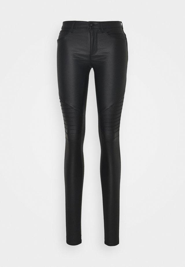 ONLNEW ROYAL BIKER - Trousers - black